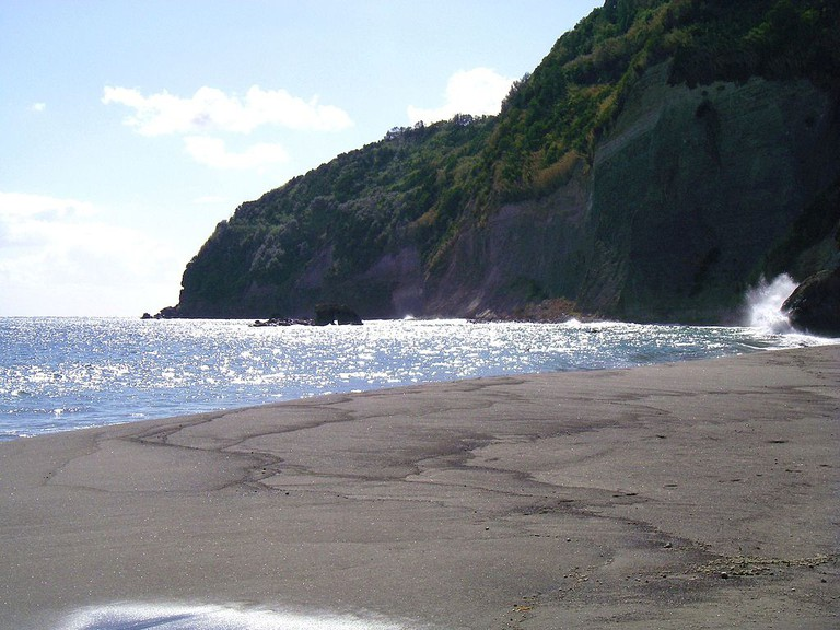 Ribeira Quente in São Miguel offers one of the nicest beaches on the island.