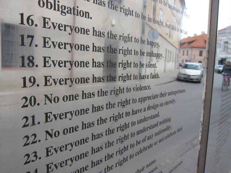 Constitution of Uzupis