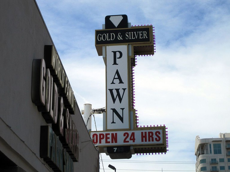 The famous Gold and Silver Pawn Shop in Las Vegas
