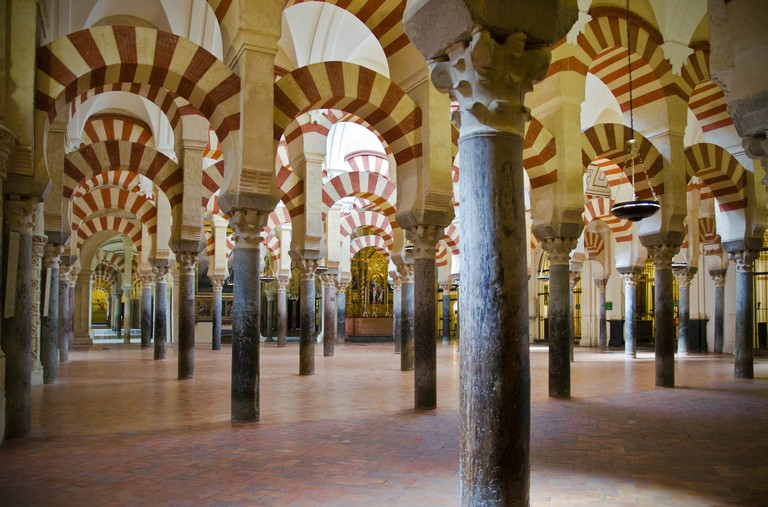 The old mosque of Córdoba (now its cathedral)