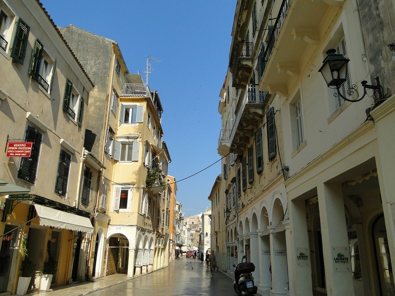 Venetian architecture in Corfu