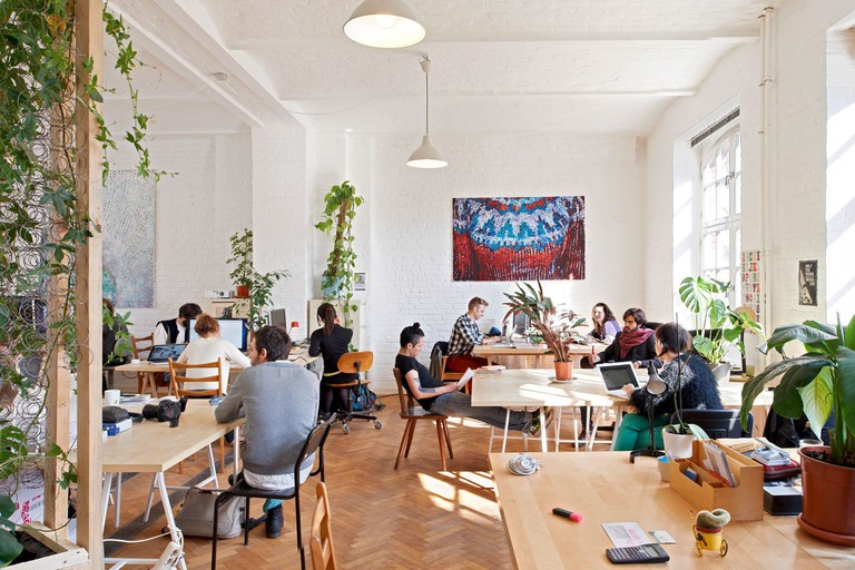 Co-working space at Agora