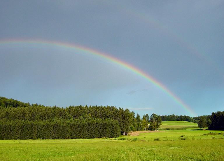 A Rainbow in Dolenjska│
