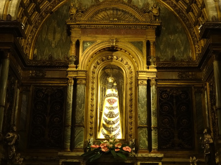 The Black Madonna in Loreto