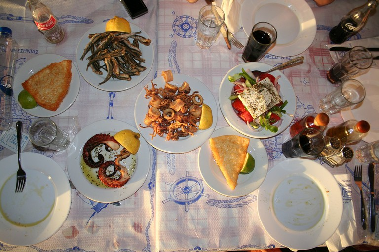 Discover Greek cuisine with a food tour