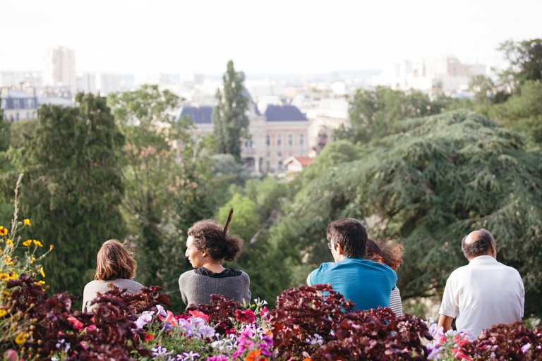 Enjoying the view at Parc des Buttes Chaumont │© Kim Grant for Culture Trip