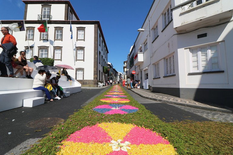 Villages become more beautiful during festivals