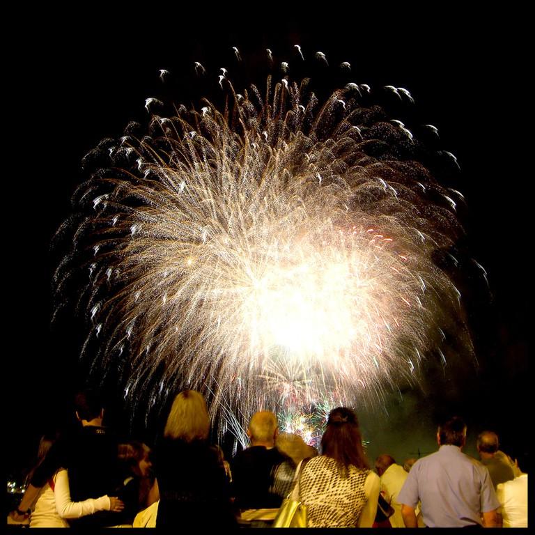 fireworks during Semana Grande, Bilbao | ©Mikel Ortega / Flickr