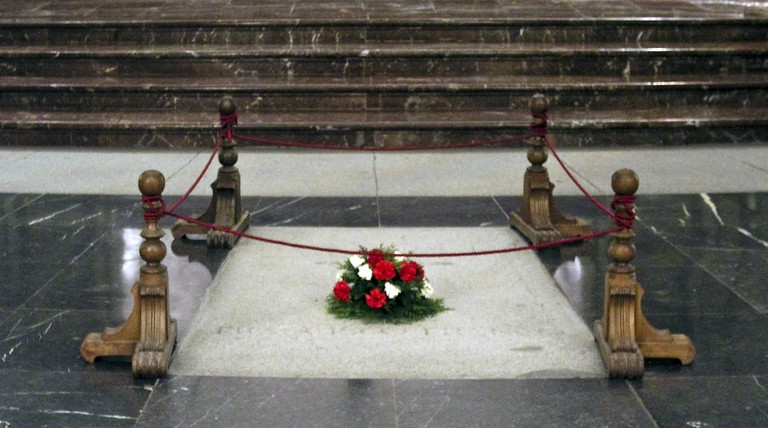 The tomb of Francisco Franco