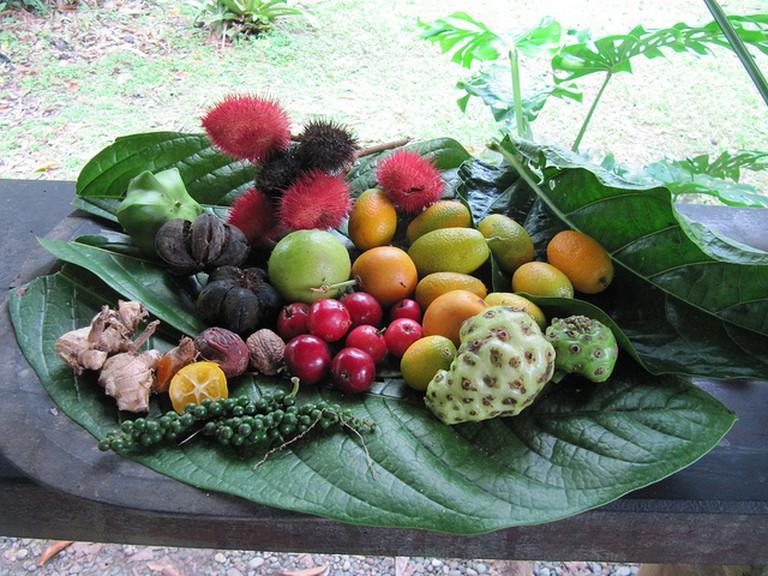 So many new fruits to try I