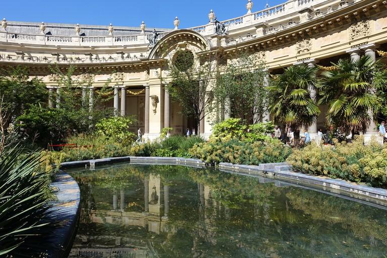Garden of the Petit Palais │© Guilhem Vellut / Wikimedia Commons