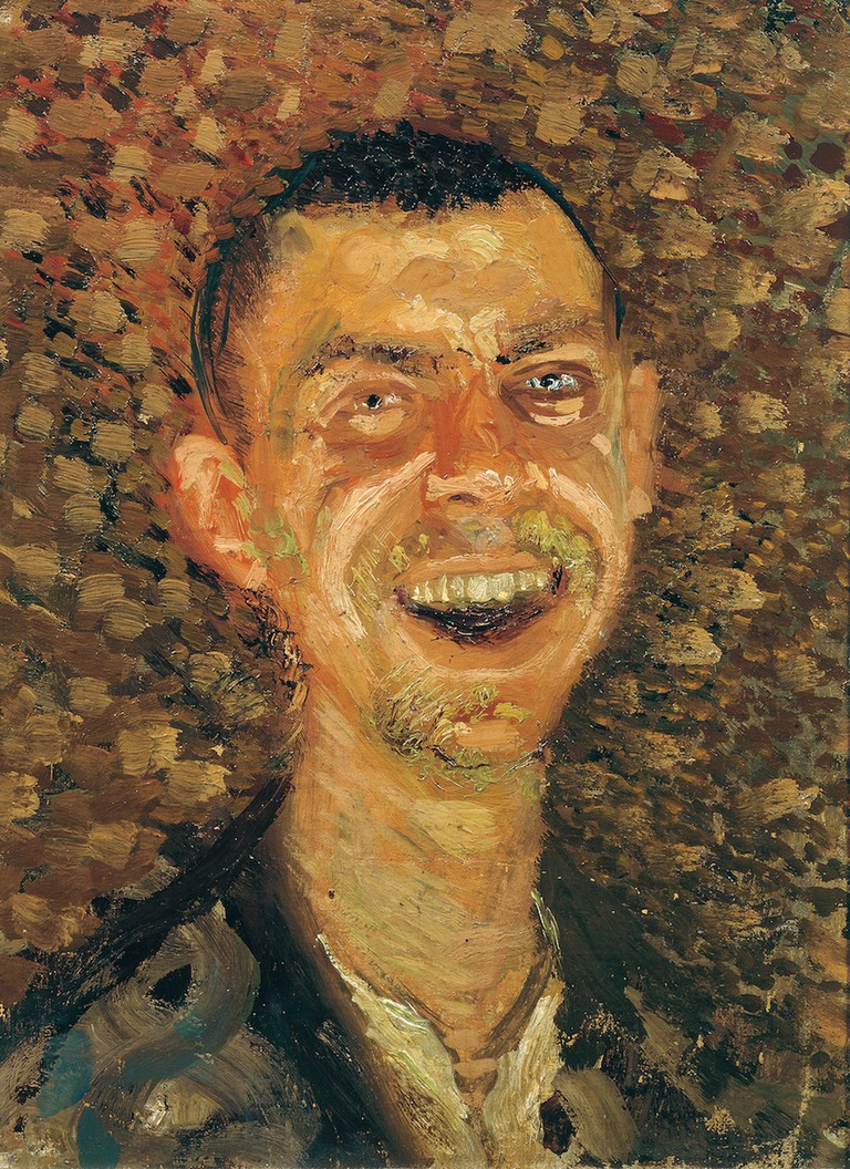 Gerstl, Self-Portrait, Laughing