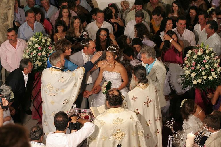 Greek Orthodox wedding in Naxos
