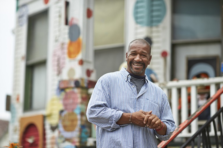 Tyree Guyton in 2014 | Courtesy of the Heidelberg Project