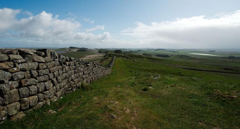 Hadrian's Wall | © Magnus Hagdorn/Flickr