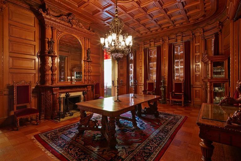Inside Heurich House