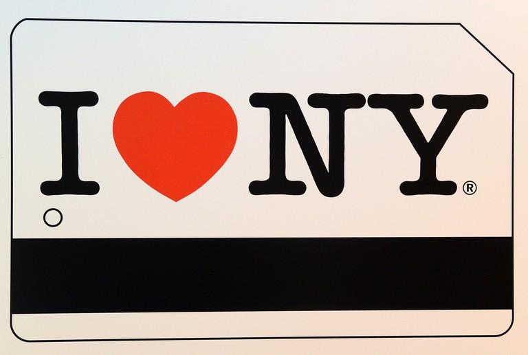 """""""I Love NY"""" MetroCard"""