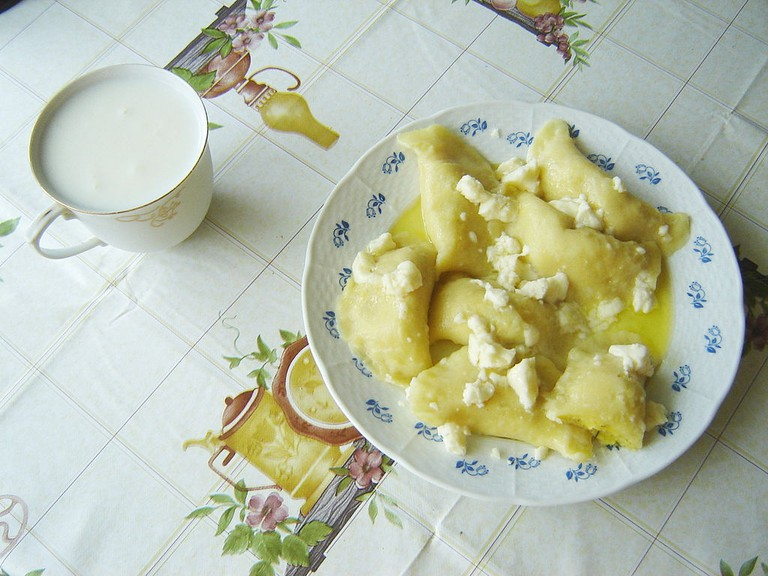 Bryndza cheese served with pirohy (dumplings) is extremely popular in Slovakia