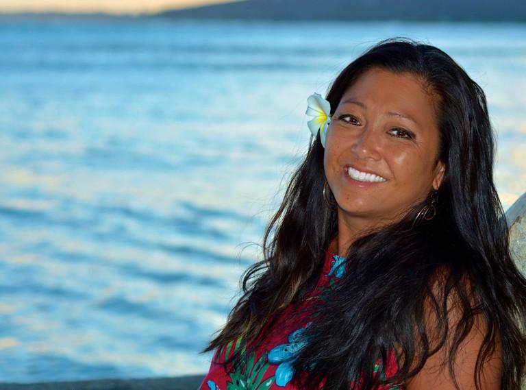 Hawaiian woman