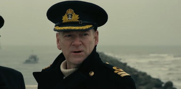 Kenneth Branagh as Commander Bolton in Dunkirk