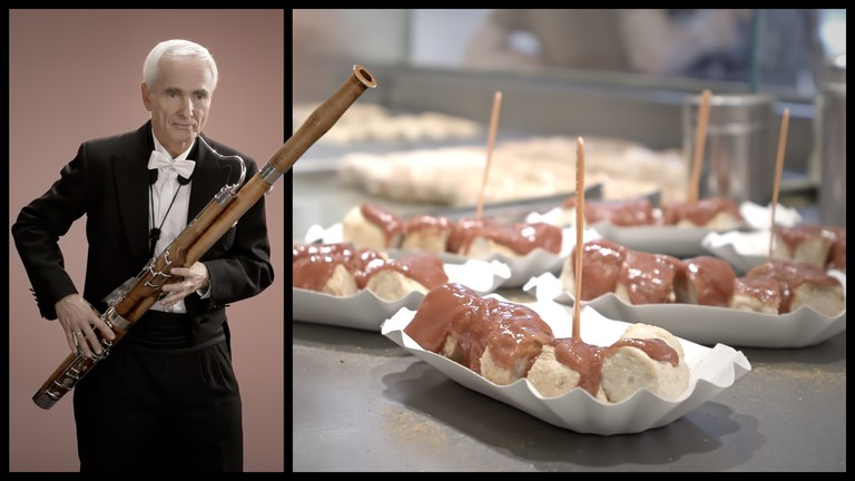 The sound of Currywurst