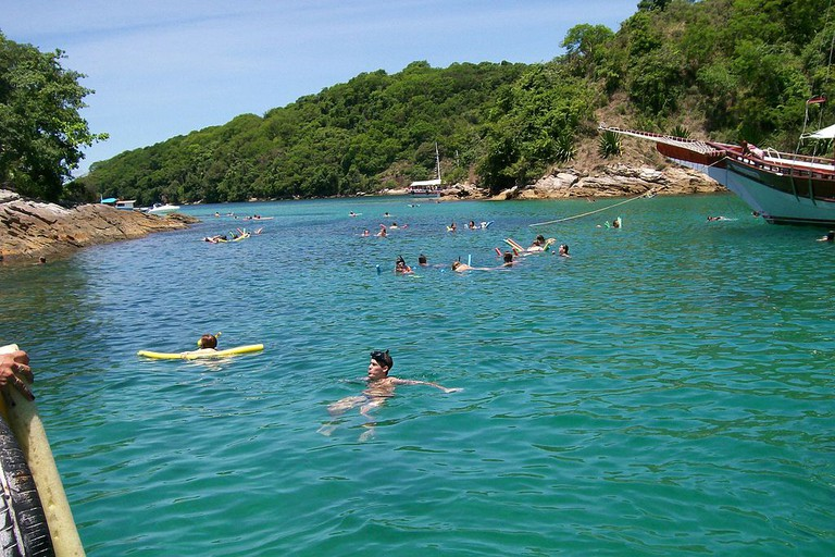 Boat trip at Ilha Grande