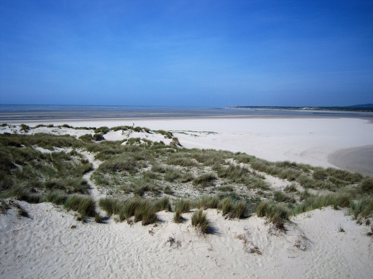 Le Touquet beach at low tide