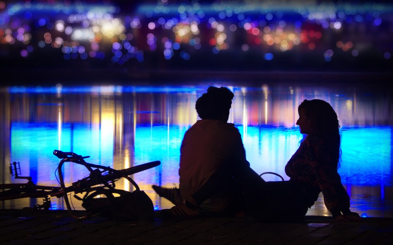 On a date by the Bassin de la Villette │© Gael Varoquaux / Flickr