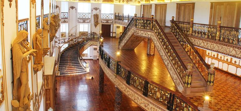 Inside Hotel de Oriente