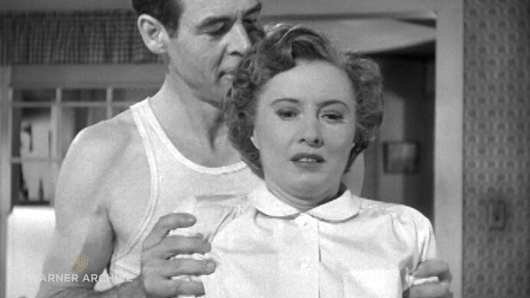 Robert Ryan and Barbara Stanwyck in Clash by Night