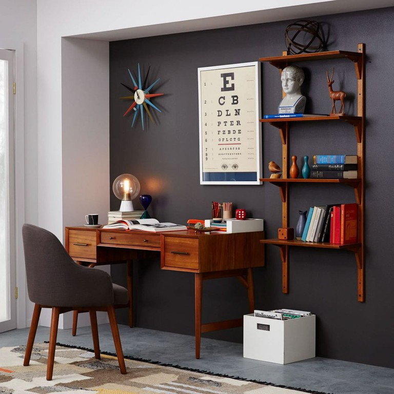 Mid-century desk, £599, West Elm