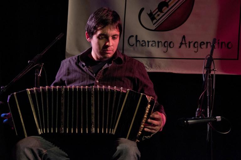Cumbia Norteña typically uses the bandoneón, or concertina