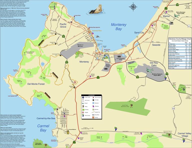 Monterey Bay Map