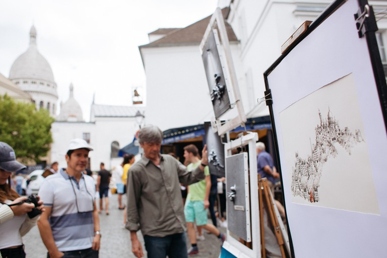 Montmartre artists place │© Kim Grant for Culture Trip