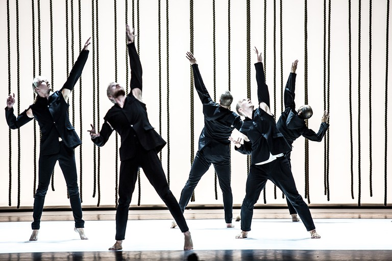 Tero Saarinen company present 'Morphed' at the Southbank Centre