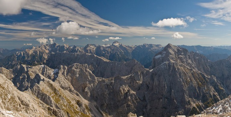 Mountains in Triglav National Park│