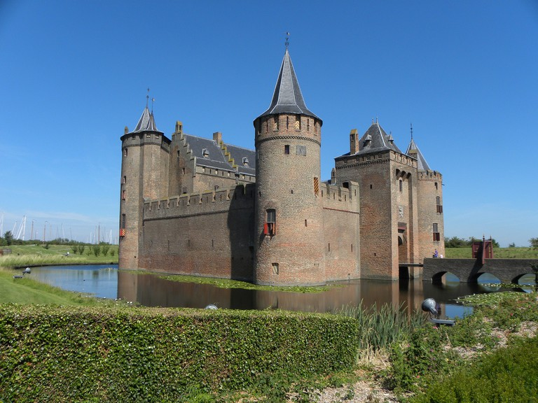 Muiderslot Castle in Muiden