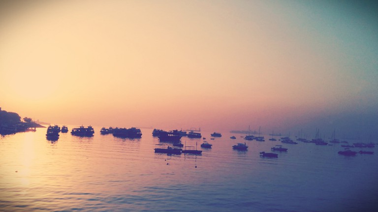 Mumbai At Sunrise