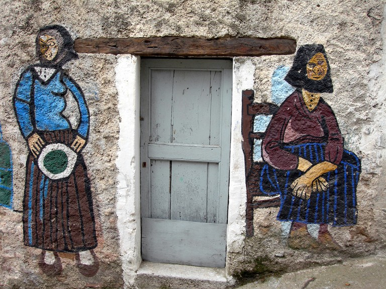 Murales a Orgosolo©Gaspar Torriero:Flickr