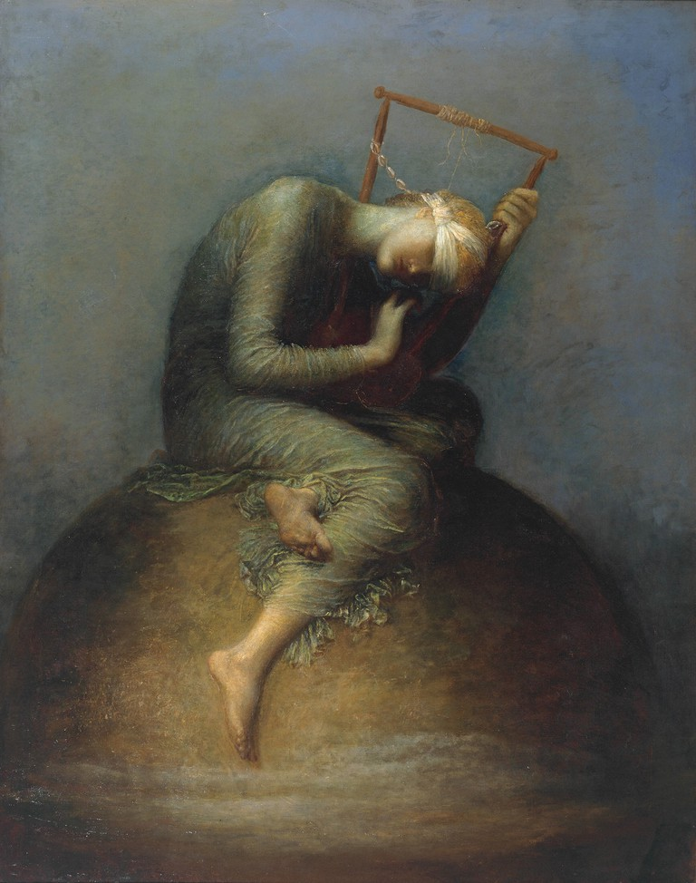 George Frederic Watts, Hope, 1886 | Tate. Presented by George Frederic Watts 1897