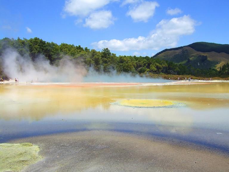 Wai-O-Tapu Geothermal Springs