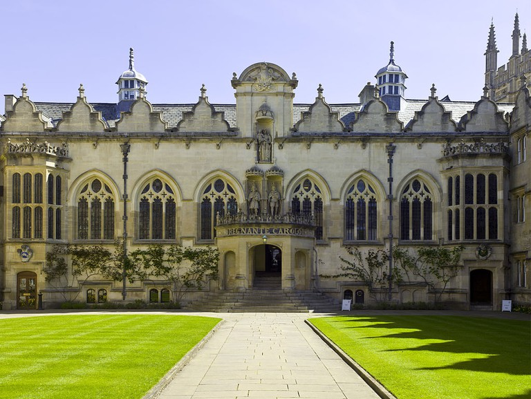 Oriel College, Oxford Univerity | © Andrew Shiva/WikiCommons
