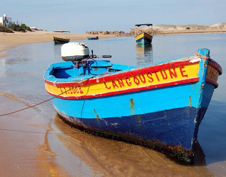 Oualidia boat