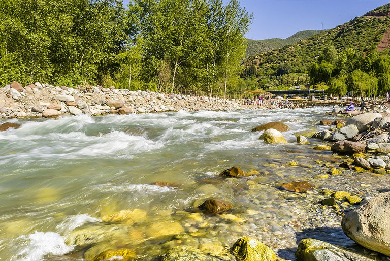 Ourika Valley River