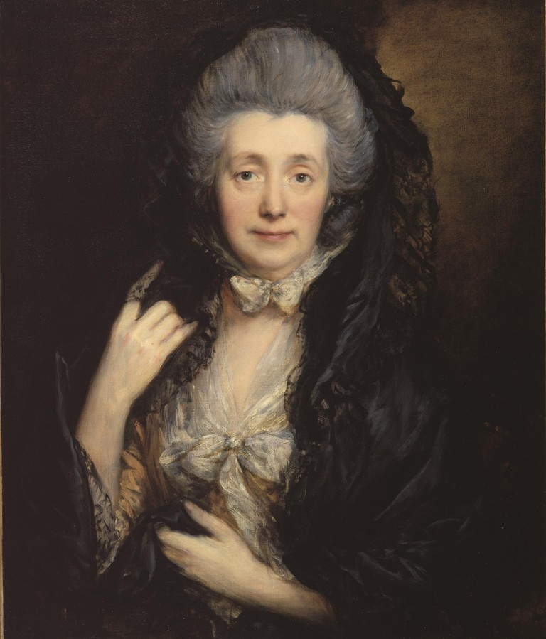 'Portrait of Mrs Gainsborough', Thomas Gainsborough, c1779 | © The Samuel Courtauld Trust, The Courtauld Gallery, London