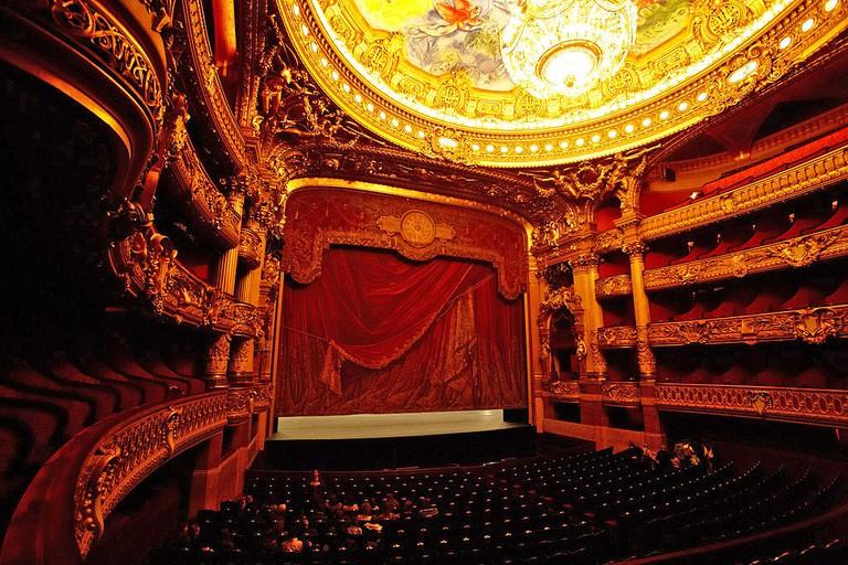 Palais Garnier │© Naoya Ikeda / Wikimedia Commons