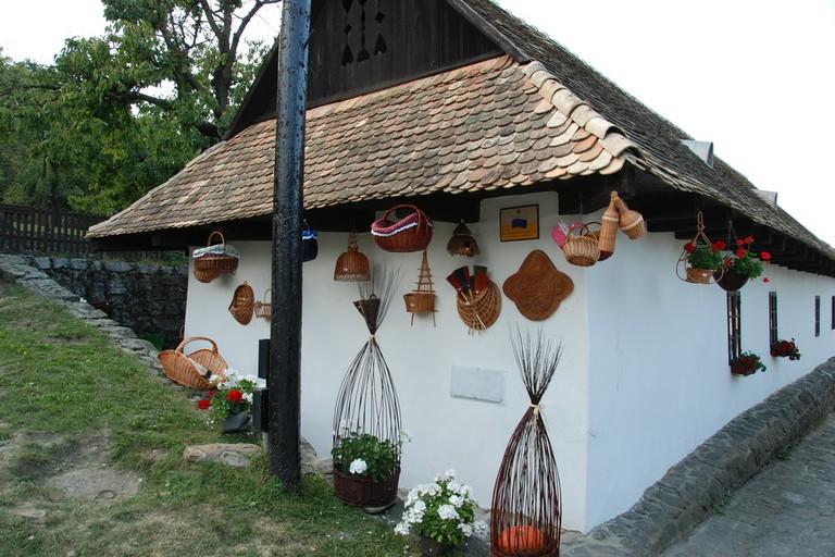 The Palóc village of Hollókő