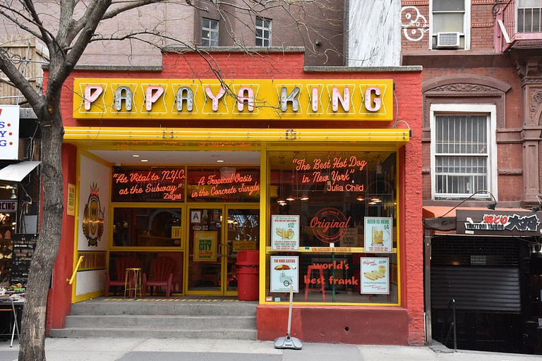 Papaya King on St. Marks Place, East Village, NYC | © MusikAnimal / Wikimedia Commons