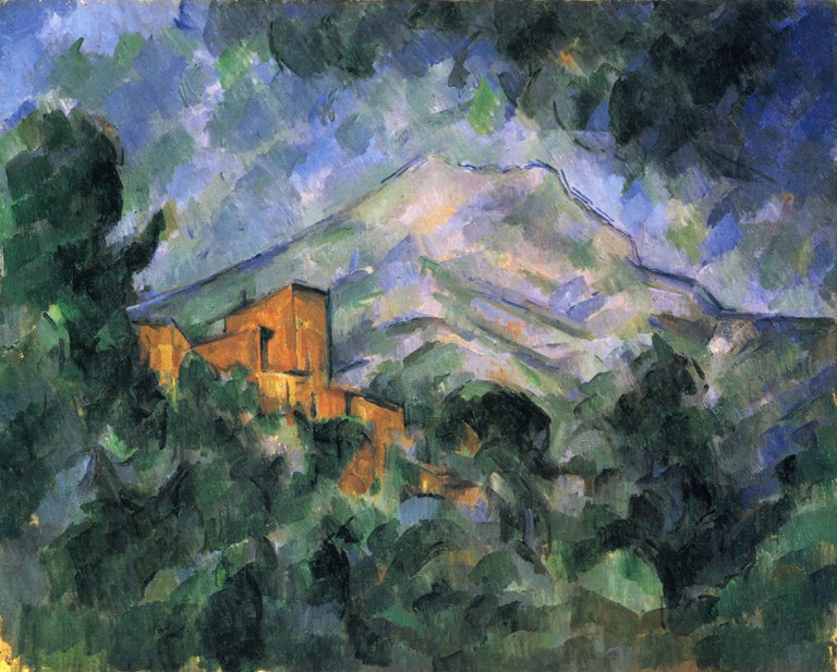 Cézanne's first love was the Mountain Saint Victoire just outside of Aix