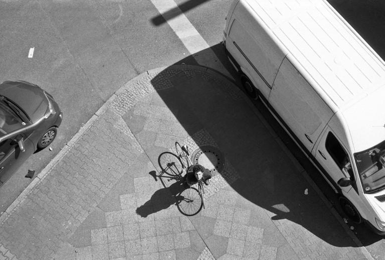 Pavlov on a Berlin corner